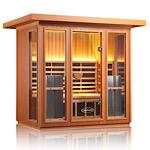 Outdoor Full Spectrum Saunas
